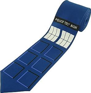 Dr Who Tardis Necktie