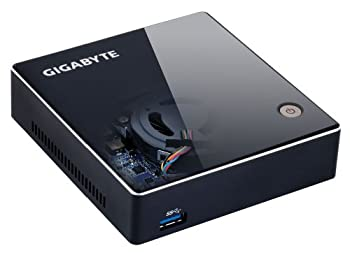 GIGABYTE Brix Core i5搭載モデル Intel HM77 DDR3-1600/1333 SO-DIMMx2 mSATA GB-XM11-3337