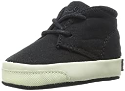 Ralph Lauren Layette Derek Loafer (Infant/Infant), Black, 3 M US Infant