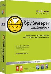 Webroot Spy Sweeper with Antivirus Family Edition - 3 PCs