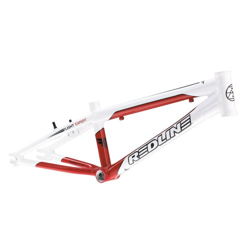 Redline 2012 Flight R6 Expert Frame - White/Red