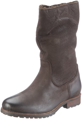Buffalo London 13030 BUFF NUBUK MILLED Boots Womens Brown Braun (BROWN 01) Size: 6 (39 EU)