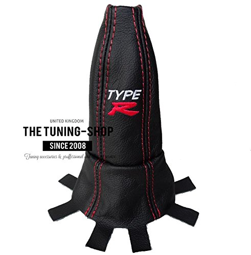 for-honda-civic-type-r-fn2-06-12-gear-gaiter-red-stitch-style-embroidery-type-r