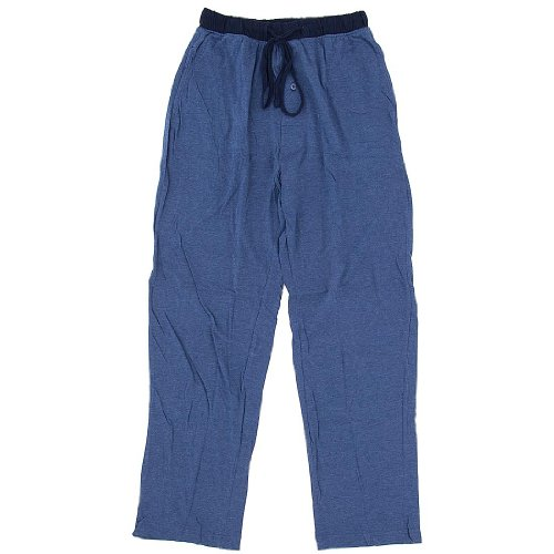Hanes Blue Knit Pajama Pants For Men
