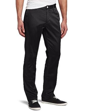Volcom Men's Frickin Modern Stretch Chino Pant, Black, 30