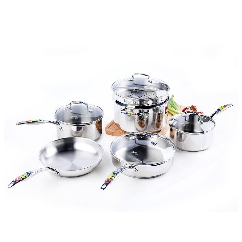 Induction Cooktop Cookware Sets back-634604