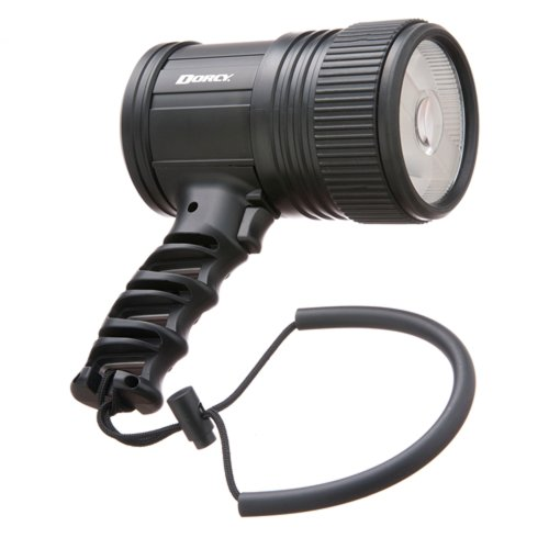 Dorcy International 41-1085 Adjustable Pistol Grip LED Spotlight with Internal Reflection System, 500-Lumens, Black Finish