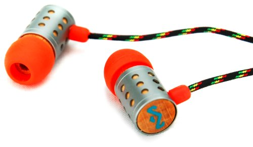 House Of Marley Em-Je020-Su Midnight Ravers - Jammin' In-Ear Headphone - Sun