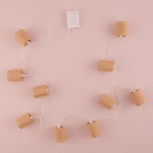 String-of-Lights-with-Natural-Burlap-Shades-Battery-LED