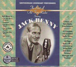 JACK BENNY-ORIGINAL RADIO BROADCASTS