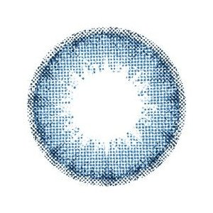 AngelColor( エンジェルカラー ) バンビ シリーズ【 ヴィンテージブルー 】 カラコン 1ヶ月 1箱1枚入【 度あり 】 【PWR】-3