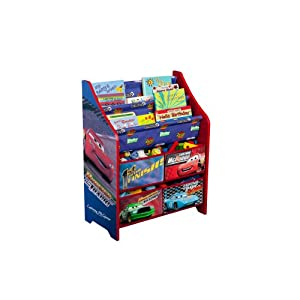 Disney Cars Book And Toy Organizer by Delta Enterprise