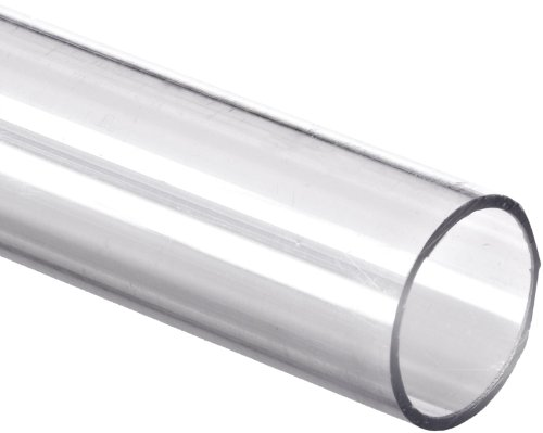 "Polycarbonate Tubing, 1/4"" ID x 3/8"" OD x 1/16"" Wall, Clear Color 36"" L"