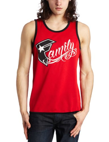 Famous Stars and Straps - Mens Family Jersey in Red/Black, Size: XX-Large, Color: Red/Black