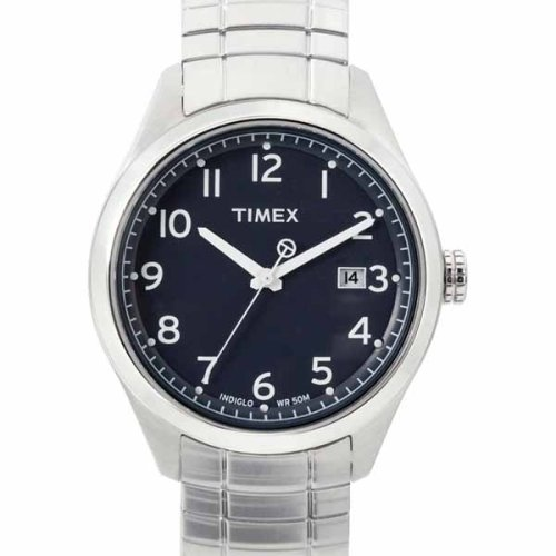 Timex Men's T-Series Silver-Tone Watch #T2M464 - Buy Timex Men's T-Series Silver-Tone Watch #T2M464 - Purchase Timex Men's T-Series Silver-Tone Watch #T2M464 (Timex, Jewelry, Categories, Watches, Men's Watches, Dress Watches, Metal Banded)
