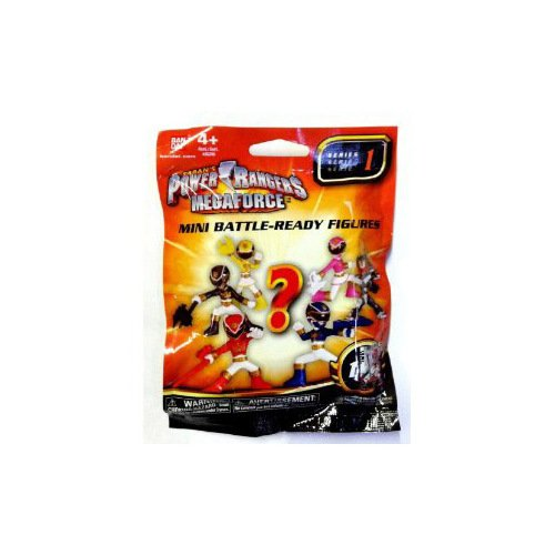 Power Rangers Megaforce Series 1 Mini Battle Ready Blind Bag Mini Figure