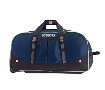 Athalon Dallas Cowboys NFL 35 Wheeling Duffel Bag by ATHALON