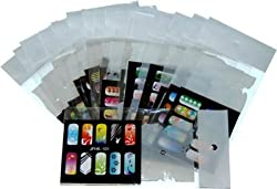 AIRBRUSH NAIL STENCIL SET # 6 PACKAGE OF 20 NAIL TEMPLATES Kustom Shop