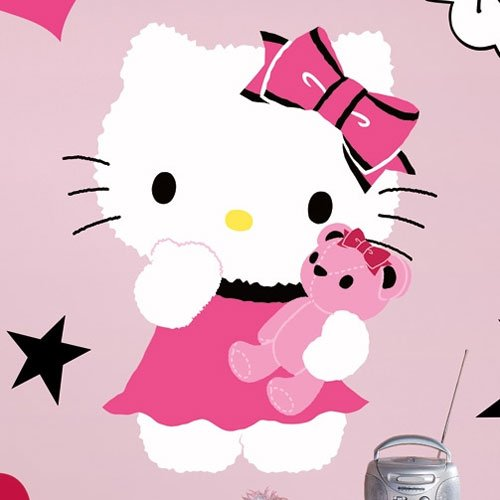 Sanrio Hello Kitty - Couture Peel & Stick Giant Wall Decal