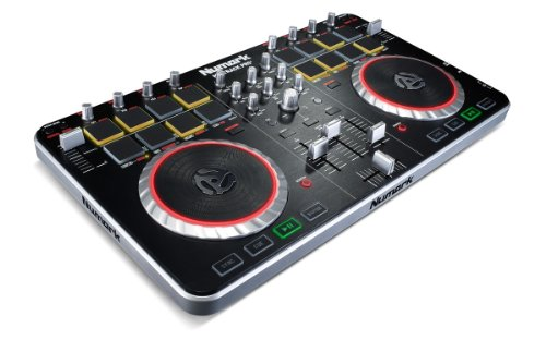 Lowest Price! Numark Mixtrack Pro II USB DJ Controller with Integrated Audio Interface and Trigger P...