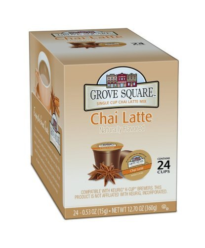Grove Square Chai Latte, 96-count Single Serve