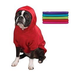 Small Basic Hooded Sweatshirt Raspberry Sorbet