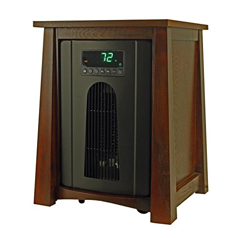 LifePro LS-8WQH 1,500 Watt Portable Infrared Quartz Heater w/ Remote