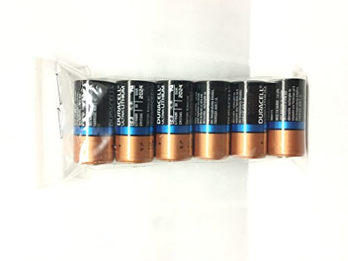 Duracell 123, CR123A, DL123A, EL123A, CR17345 Ultra Photo Lithium Batteries, 6 Pcs. Loose Battery Without Packing...