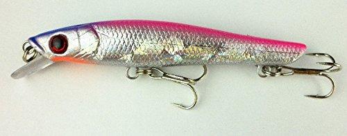 8-Pcslot-88g95cm-Minnow-Hooks-Plastic-Fishing-Lures-Baits-Crankbait