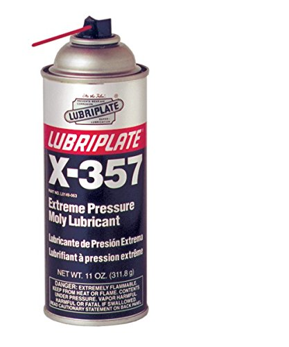 Lubriplate X-357, L0149-063, Lithium Lubricant With Moly-Disulfide, Ctn 12/11 Oz Spray