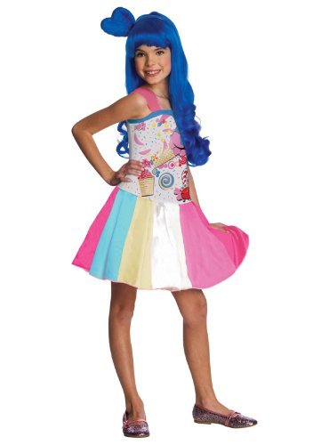 Girl's Katy Perry Candy Girl Costume M by Rubie's (Katy Perry Candy)