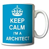 Keep Calm I'm An Architect Mug Cup Gift Retro