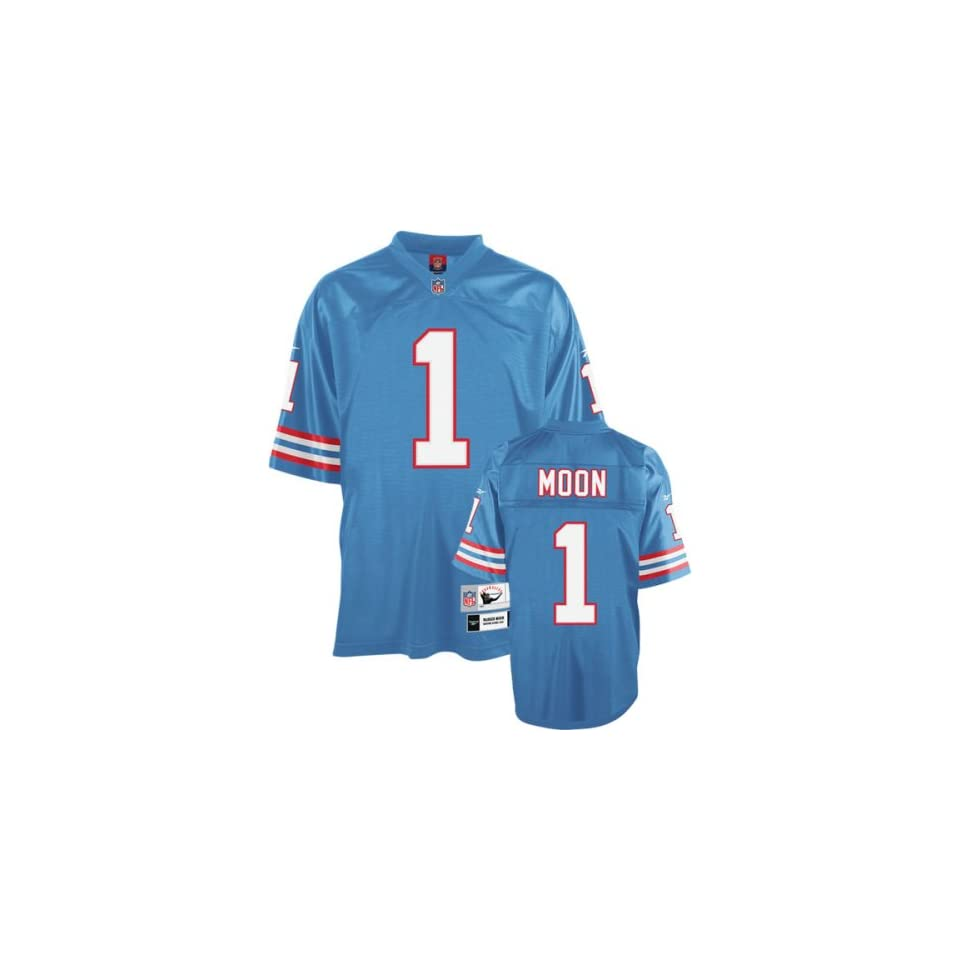 Reebok Houston Oilers Warren Moon Premier Throwback Jersey on PopScreen a3d275088