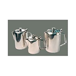 Winco Stainless Steel Beverage Server, 12 Ounce -- 1 each. from Winco