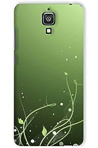 IndiaRangDe Hard Back Cover FOR Xiaomi Mi 4