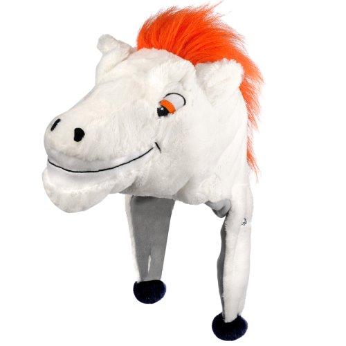 NFL Denver Broncos Thematic Mascot Dangle Hat