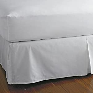 Amazon 600 TC Solid Queen White Fitted Sheet 16