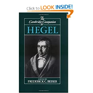 The Cambridge Companion to Hegel Frederick C. Beiser