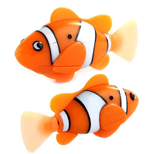 Hot gift robo fish battery powered robo fish toy children for Robo fish toy