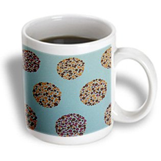 Florene Abstract Pattern - Pebbles Float - 15Oz Mug (Mug_14544_2)