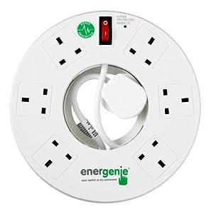 Energenie ENER006 6-Gang Surge-Protected Donut Extension Lead