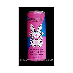 Happy Bunny Spaz Juice Energy Drink 8.4 fl oz
