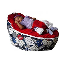 Babybooper Baby Beanbags, Super Booper Red Top Athlete, 4 Count