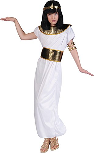 Kid's Cleopatra Gown Halloween Costume (Size: Medium 8-10)