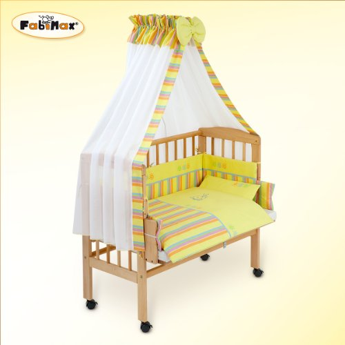 fabimax lit cododo babymax classic avec quipement emily jaune vert int gral matelas silver guruh. Black Bedroom Furniture Sets. Home Design Ideas