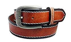 Sanshul Men's Belt (Sa-75, Tan, 42)