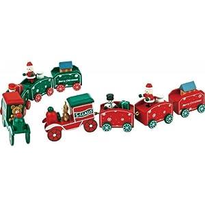 ウッディクリスマストレイン(クリスマス商品・雑貨・オブジェ)