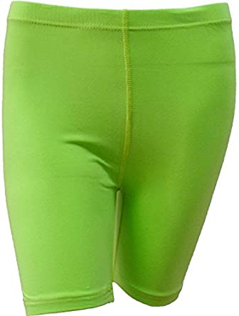 LADIES STRETCHY COTTON LYCRA ABOVE KNEE SHORTS ACTIVE LEGGINGS
