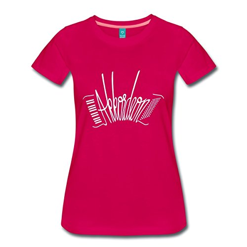 Akkordeon-Frauen-Premium-T-Shirt-von-Spreadshirt