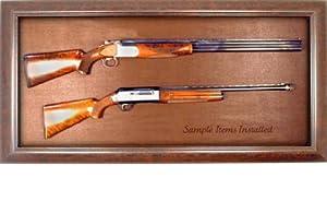Gun Display Case - Wall Mounted Rifle & Shotgun Display Case - Factory Direct! by Home Display Cases Gun Display Experts
